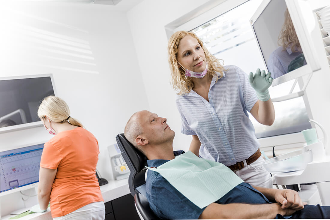 Zahnarzt Neuss Holzheim - Jonek / Gensior - Leistungen - Parodontologie